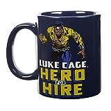Marvel Comics Luke Cage Hero for Hire Collectible Mug, 11 Ounces