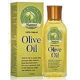 Olivenöl, Premium Bio Olivenöl Kaltgepresst, Olivenöl für Haut und Haar, 100% Natur - ohne Geschmacksverstärker, ohne Aromen, ohne Füllstoffe, 150ML