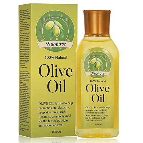 Olivenöl, Premium Bio Olivenöl Kaltgepresst, Olivenöl für Haut und Haar, 100{f8cd189f2c19f461b9658a5f0749fc077203256bf20560722813383e28dcf2f5} Natur - ohne Geschmacksverstärker, ohne Aromen, ohne Füllstoffe, 150ML