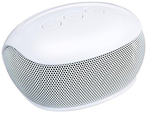 エレコムBluetoothブルートゥーススピーカーワイヤレス3W出力8時間再生通信距離10miPhoneandroid対応ホワイトLBT-SPP20WH