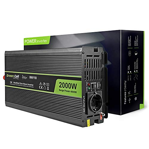 Green Cell 300W-2000W con Onda Sinusoidale Modificata/Pura