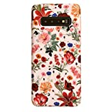 Velvet Caviar Case Compatible with Samsung Galaxy S10 - Cute Protective Phone Cases for Girls Women (Vintage Pink Floral)