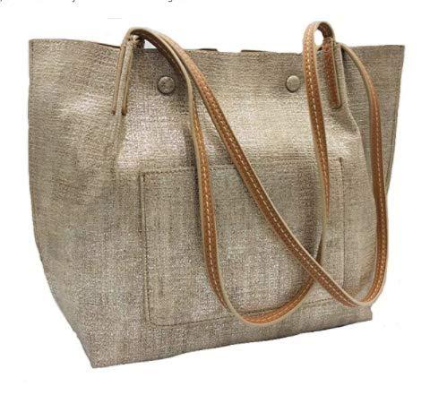 Sondra Roberts Tote Bag, Gold