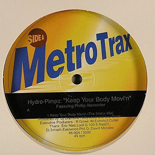 Keep your body movi'n (4 versions, incl. Matrix Mix, feat. Phillip Alexander) / Vinyl Maxi Single [Vinyl 12'']