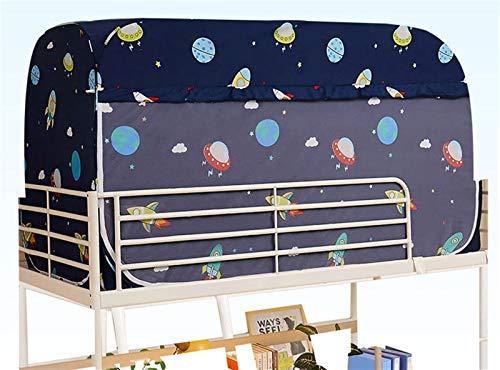 WWYYZ Tienda de campaña de privacidad para dormitorio de tres puertas, transpirable, a prueba de polvo, protección contra la sombra, (espacio)