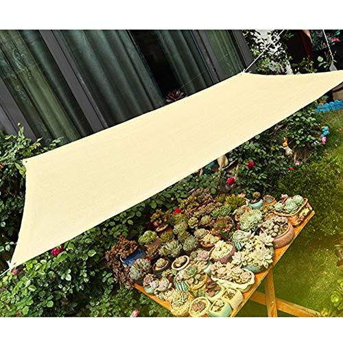 WXQIANG Red de sombreado para pérgola y patio, cubierta para camping, refugios solares de tela de bloque de coche para plantas de invernadero, jardín, protección solar, aislamiento térmico,