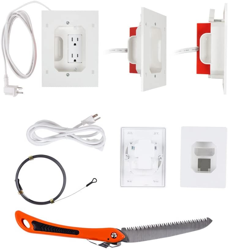 Metra Home Theater Relocation Double Outlet Power Kit (AS-PWRLODBL)