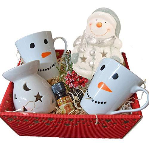 Geschenk Set Korb Weihnachten/Weihnachtsgeschenk Eltern Großeltern Freundin Frau