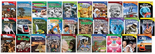 TIME FOR KIDS® Informational Text Grade 3 Readers 30-Book Set (TIME FOR KIDS® Nonfiction Readers)