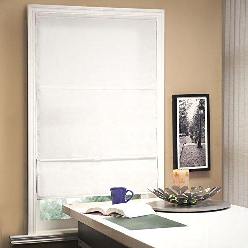 Chicology Schnurloser magnetischer Raffrollo, Vorhangstoff, Lichtfilterung, Privatsphäre, Allure Powder, 83 x 163 cm (B x H)