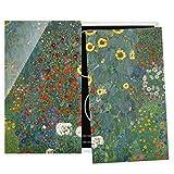 Bilderwelten Cubre encimeras para Cocina Gustav Klimt - Garden Sunflowers, 60x52 cm