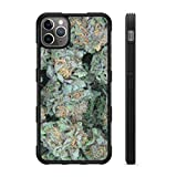407Case Fits iPhone 12 Pro Max 6.7' Weed Nuggets Protective Rubber Phone Case Marijuana Buds 420 (iPhone 12 ProMax 6.7')