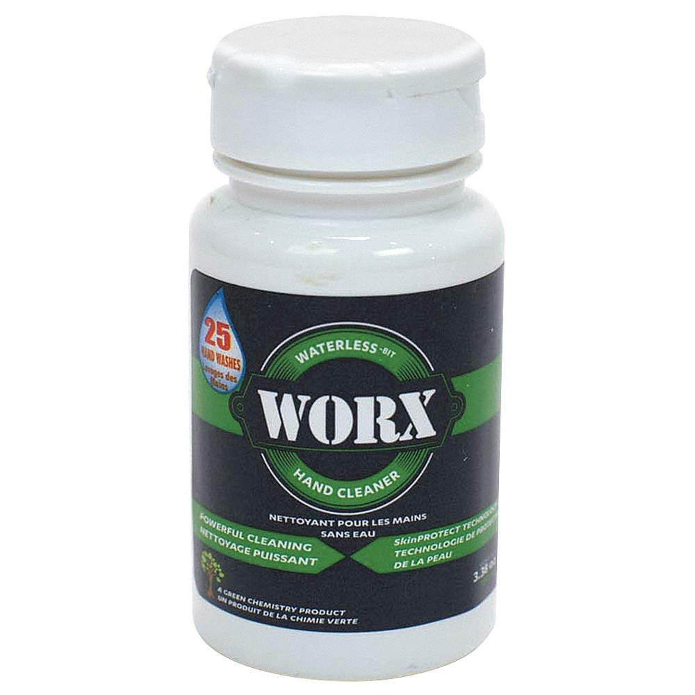 Worx 26-1024 Biodegradable Waterless Hand 3.38 - Cleaner Max 65% OFF Citrus Seasonal Wrap Introduction