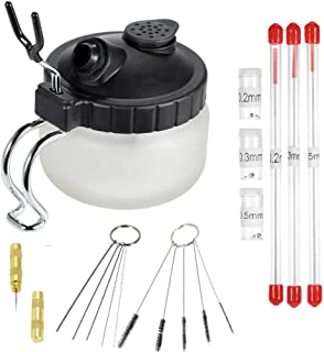 0,4 Buchse Kompatibel mit Badger Airbrush Benkeg Schnellkupplung,Airbrush Quick Disconnect Coupler Release Fitting 3-teilig Stecker M5