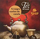 Ship - Té Pirámide Sueños de Canela en Caja de 15 unidades - Con Funda - Aumenta las Defensas,...