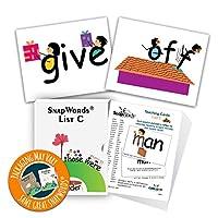 [Child1st SnapWords]Child1st SnapWords SnapWordsTM List C Teaching Sight Word Cards SWC1 [並行輸入品]