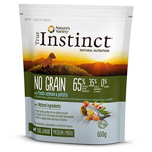 True Instinct - Pienso para Perros Cachorros medianos y Grandes no Grain salmón, Estándar (922951) ⭐