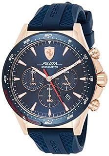 Scuderia Ferrari Herren Chronograph Quarz Uhr mit Silikon Armband 830621 (B07ND9N75J) | Amazon price tracker / tracking, Amazon price history charts, Amazon price watches, Amazon price drop alerts