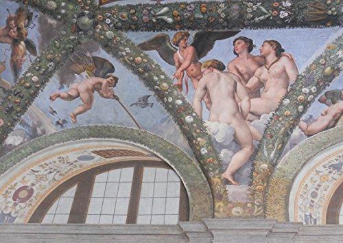 Raphael (Raffaello Sanzio of Urbino): Cupid and the Three Graces. Fine Art Print/Poster. Size A2 (59.4cm x 42cm)