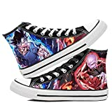 SevenLeo Zapatillas Hombre Hombre Zapatillas Mujer Mujer Unisex Zapatillas Lona Zapatos Casuales Zapatos Zapatos Dragon Ball Goku Anime Shoes 43