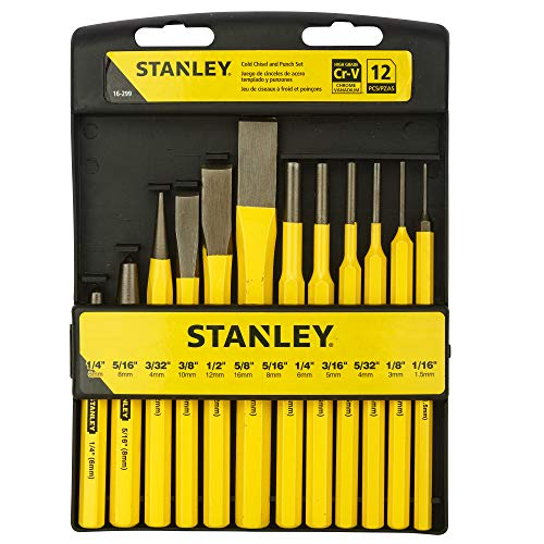 Stanley 16-299 12 Piece Punch & Chisel Kit