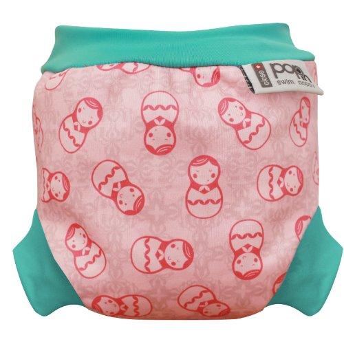 Close Pop-in Russian Dolls - Pañales para nadar (recién nacidos, a partir de 3 kg), diseño de 2014