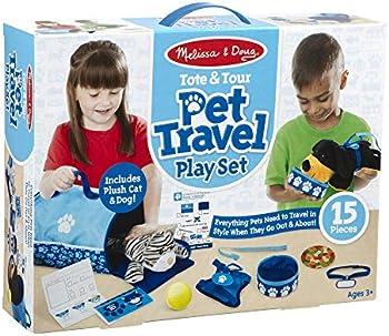 Melissa & Doug Tote & Tour Pet Travel Play Set