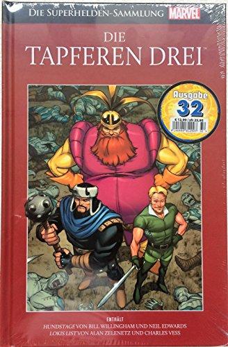 Die Marvel Superhelden Sammlung Ausgabe 32: Die tapferen Drei - Lokis List