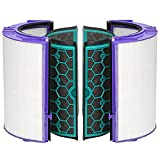 Juego de filtros 4 unids/set Durable Mini piezas de carbón activado hogar reutilizable limpieza sy instalar purificador de aire Accesorios reemplazo para Dyson TP04 TP05 HP04 HP05 DP04