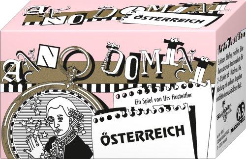 ABACUSSPIELE 09061 - Anno Domini - Österreich, Quizspiel, Schätzspiel, Kartenspiel