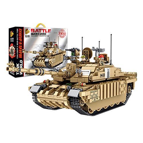 DongZhou Bausatz für Militärpanzer, Deutsche Leopard 2 Panzermodellbausätze, Geschenk für Erwachsene und Kinder