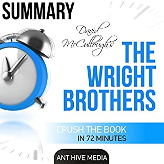 David McCullough's The Wright Brothers Summary audiobook cover art