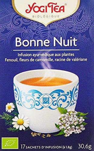 YOGI TEA Infusion Bonne Nuit - 17 sachets Bio -