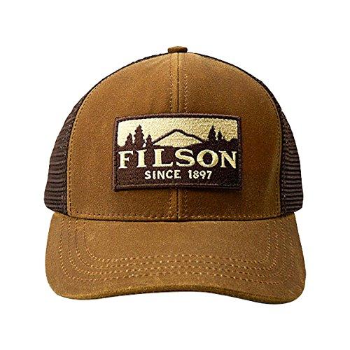 Filson Logger Mesh Cap (Dark Tan)