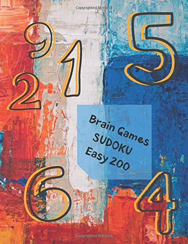 Brain Games - SUDOKU Easy 200: A Bargain For Sudoku Lovers