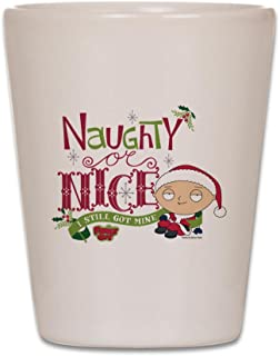 CafePress - Naughty Or Nice - Shot Glass, Unique and Funny Shot Glass
