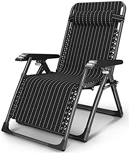 ZWWZ Sun Lounger Camping chairs Garden daybeds Folding chair Sunbed Deck chair, Folding chair Balcony Lunch break Office chair Summer fur Portable outdoor beach chair xiuyun HAIKE
