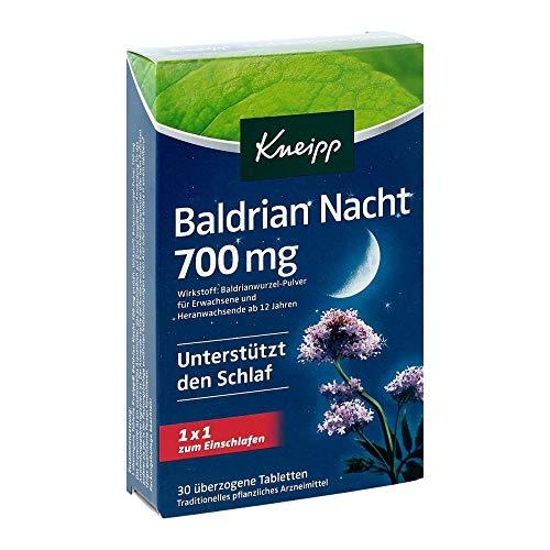 KNEIPP Baldrian Nacht 700 mg überzogene Tab. 30 St