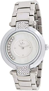 Sunex Women's Silver Dial Stainless Steel Band Watch S6281SW