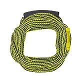 Lomo Waterski - Cuerda de remolque (60 pies), color amarillo y negro
