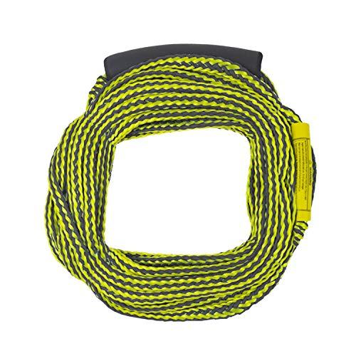 Lomo - Corda da traino per sci d'acqua, colore: Giallo e Nero