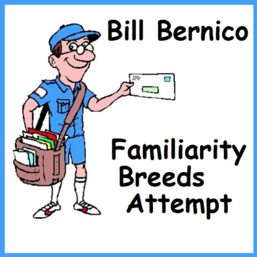 Familiarity Breeds Attempt audiobook cover art