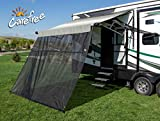 CAREFREE 701509ACD Black 15' x 9' Drop RV Awning EZ ZipBlocker