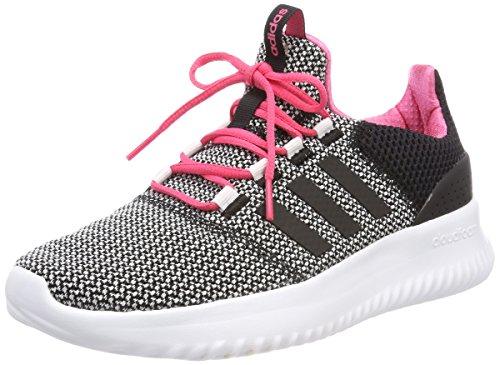 adidas Unisex Adults' Cloudfoam Ultimate Competition Running Shoes, Black (Cblack/Cblack/Ftwwht 000), 5.5 UK