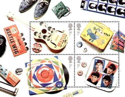 The Beatles 2007 Blocco Speciale Francobolli