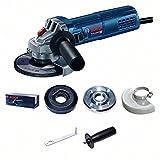 Bosch Professional Winkelschleifer GWS 9-125 S (900 Watt, Leerlaufdrehzahl: 2800 – 11000 min-1, im...