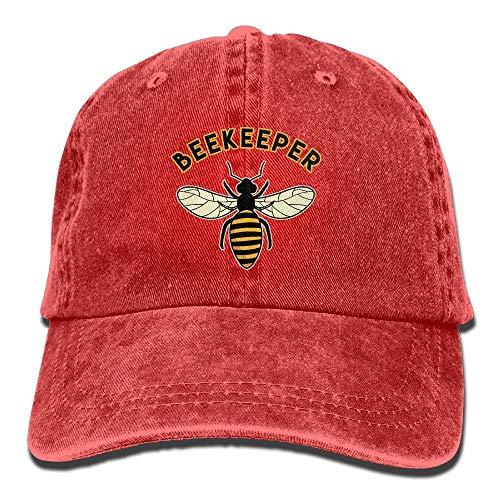 ONGH Unisex Gewaschene Imker Fashion Denim Baseball Cap Verstellbarer Papa Hut
