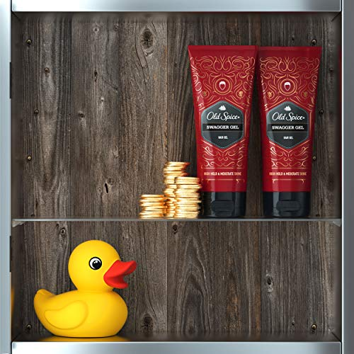 Old Spice Hair Styling Swagger Gel for Men, 6.7 FL OZ