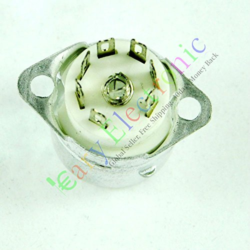 Cary 4Keramik Mini 7-polig Vakuum Röhrenfassungen Ventil-Unterteil für aee91EC92Audio-Verstärker