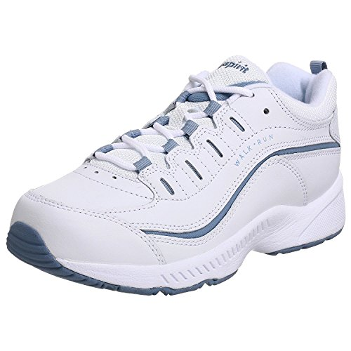 Easy Spirit womens Romy Sneaker, White 130, 8.5 US
